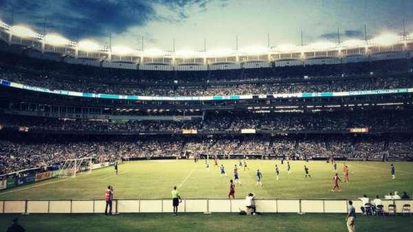 Yankee Stadium, section: 105, row: 18, seat: 3