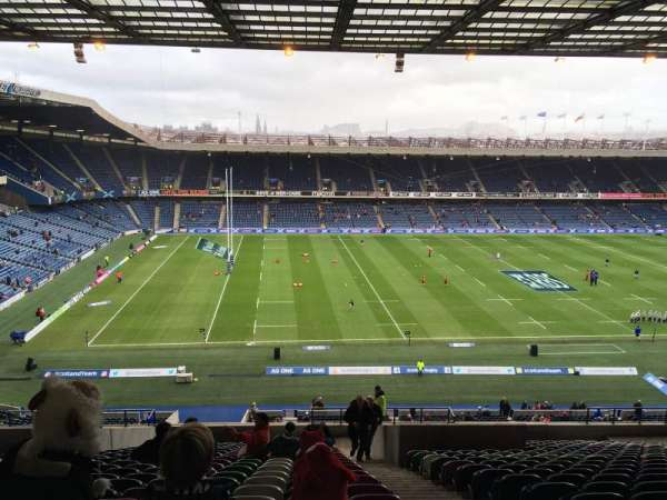 Murrayfield Stadium, section: W32, row: LL, seat: 10
