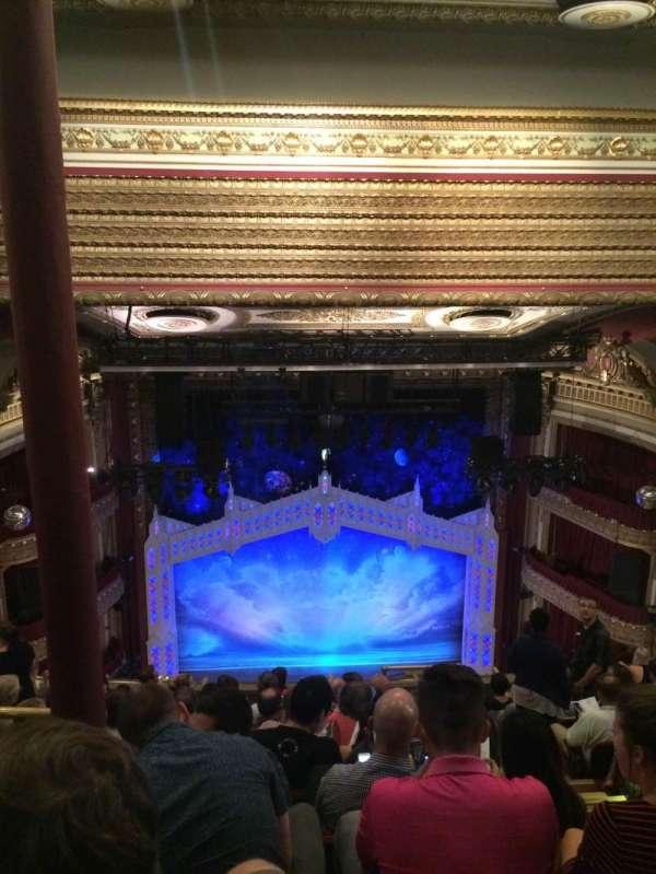 CIBC Theatre, section: Balcony LC, row: K, seat: 405
