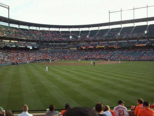 Oriole Park at Camden Yards, section: 94, row: 8, seat: 17