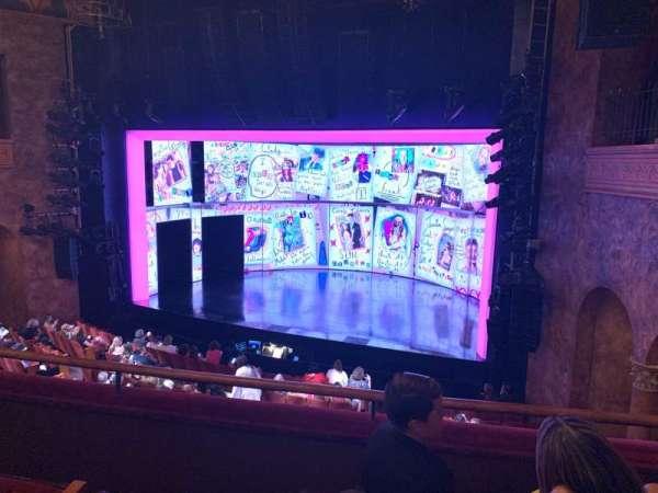 August Wilson Theatre, section: Mezzanine R, row: C, seat: 12
