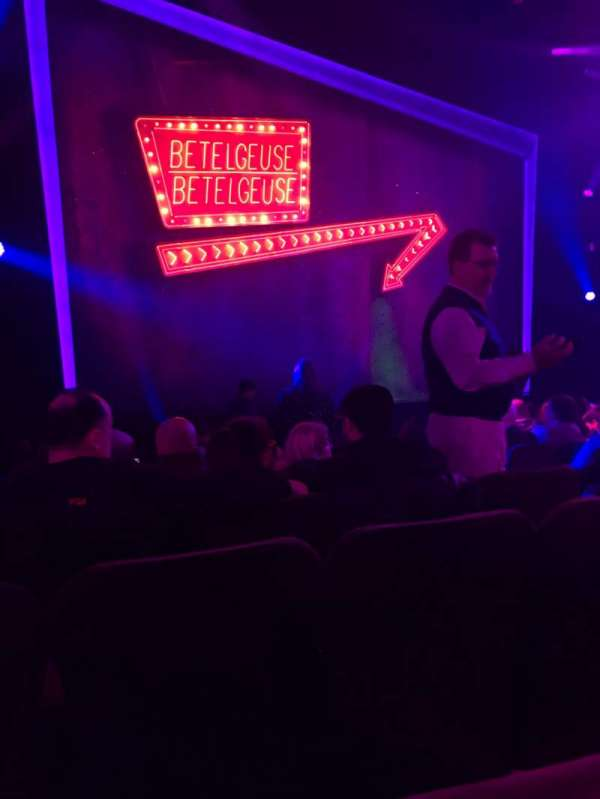 Winter Garden Theatre, section: Orchestra L, row: J, seat: 9
