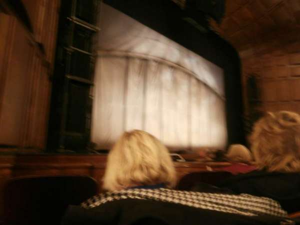 Benedum Center, section: Orchestra Left Center, row: C, seat: 38