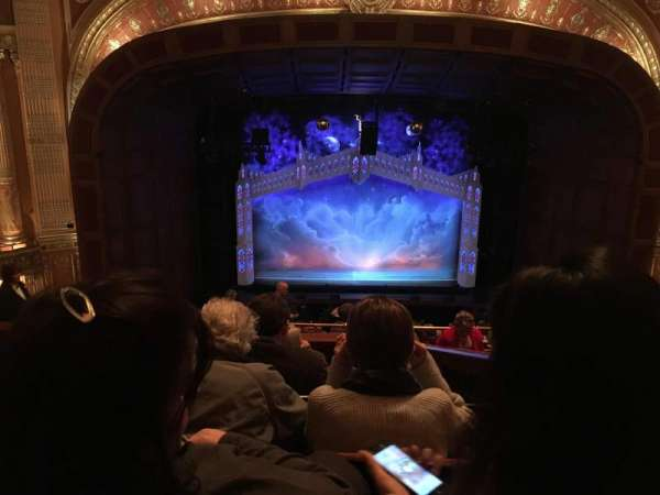 Benedum Center, section: 1st Tier (Balcony) Center, row: G, seat: 102