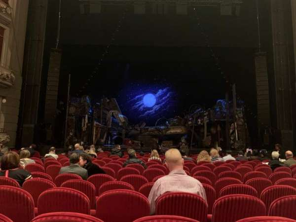 Princess of Wales Theatre, section: Orchestra, row: F, seat: 26