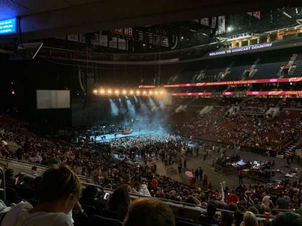 Wells Fargo Center, section: Club Box 4 (CB4), row: 6, seat: 17