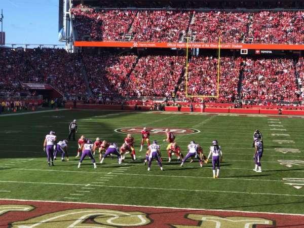 Levi's Stadium, section: 126, row: 7, seat: 16