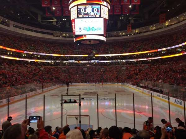 Wells Fargo Center, section: 119, row: 12, seat: 12
