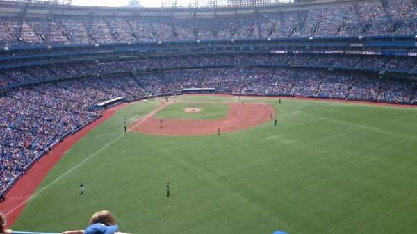 Rogers Centre, section: 505L, row: 4, seat: 109