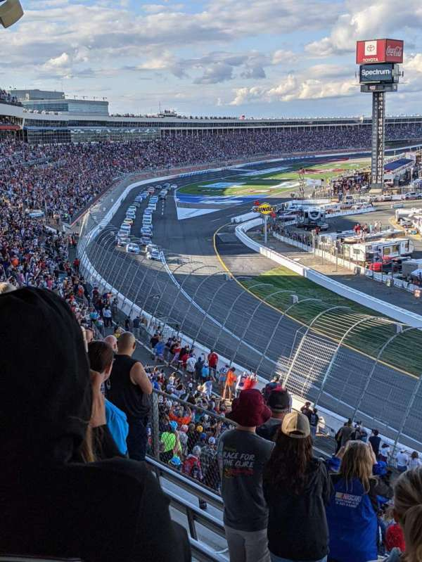 Charlotte Motor Speedway, section: GNS CC, row: 26, seat: 1