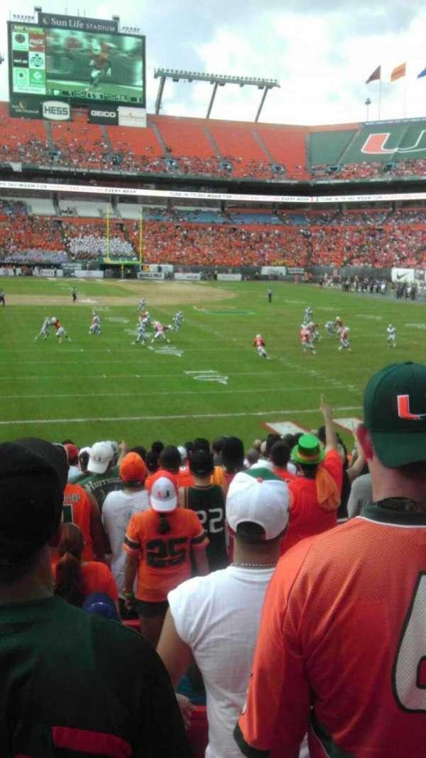 Hard Rock Stadium, section: 130, row: 18, seat: 12
