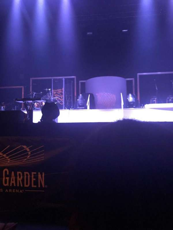 Hulu Theater at Madison Square Garden, section: 100, row: F, seat: 10