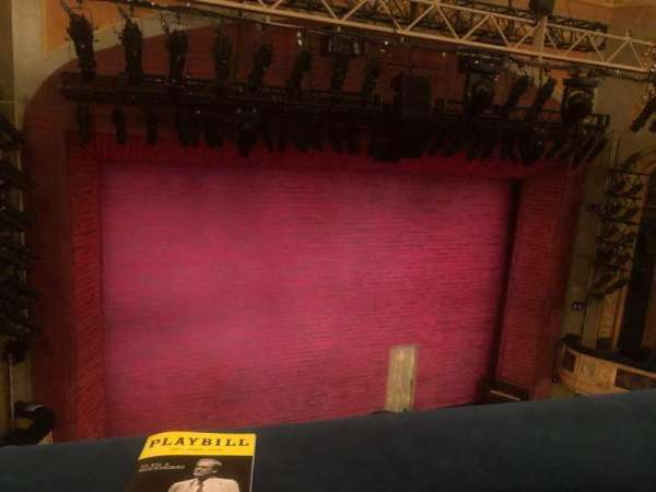 Shubert Theatre, section: Balcony L, row: A, seat: 7