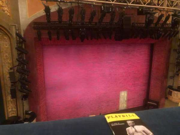 Shubert Theatre, section: Balcony L, row: A, seat: 3