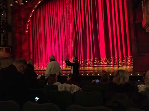 Shubert Theatre, section: Orchestra R, row: H, seat: 14
