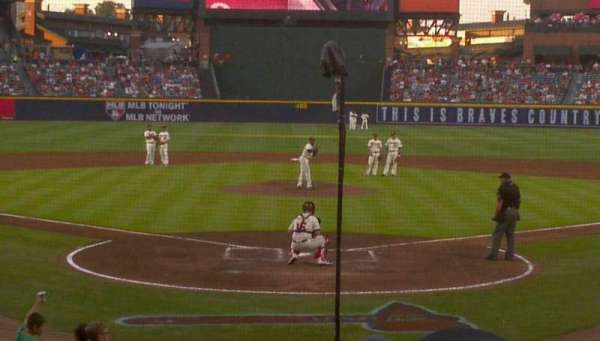 Turner Field, section: 102r, row: 14, seat: 5