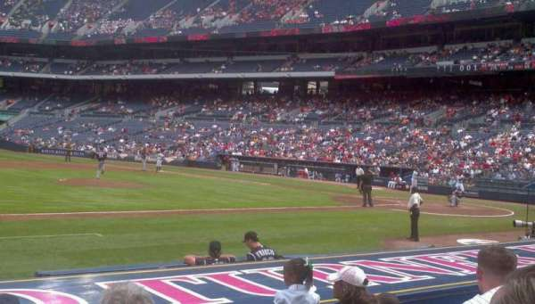 Turner Field, section: 114, row: 5, seat: 5