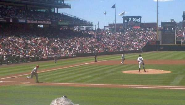 Coors Field, section: 124, row: 14