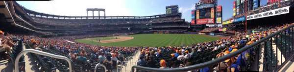 Citi Field, section: 108, row: 24, seat: 1