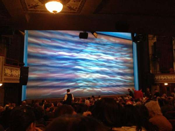 Broadhurst Theatre, section: Orchestra L, row: O, seat: 13