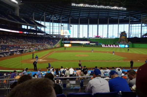 Marlins Park, section: 10, row: 4, seat: 9