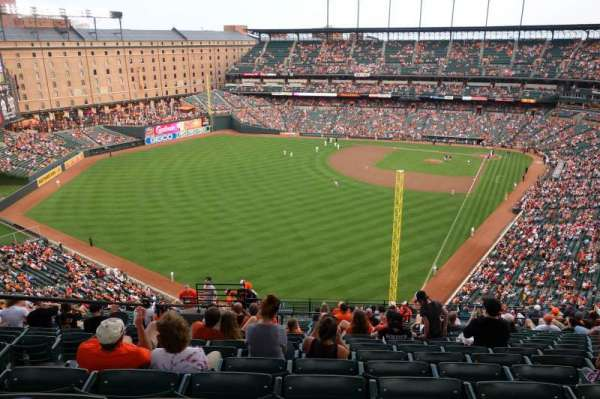 Oriole Park at Camden Yards, section: 378, row: 24, seat: 19