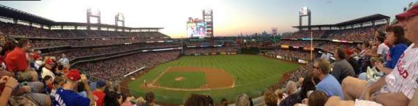 Citizens Bank Park, section: 315, row: 4, seat: 11