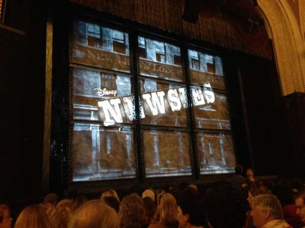 Proctor's Theatre, section: Orch Ctr Lft, row: JJ, seat: 15
