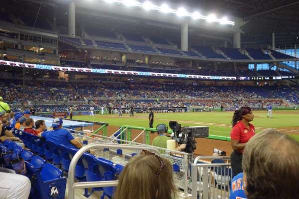 Marlins Park, section: 7, row: C, seat: 20