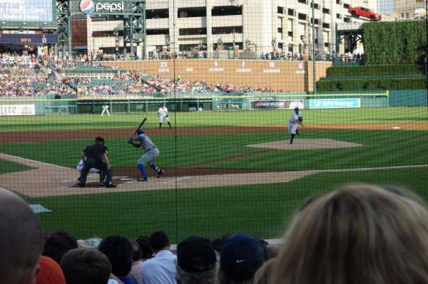 Comerica Park, section: 125, row: 14, seat: 9
