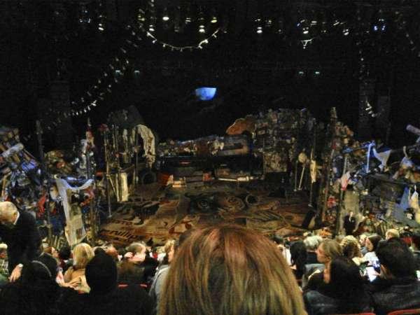 Neil Simon Theatre, section: FMEZZ, row: J, seat: 107