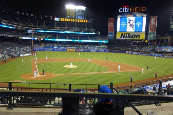 Citi Field, section: 116, row: 4, seat: 19