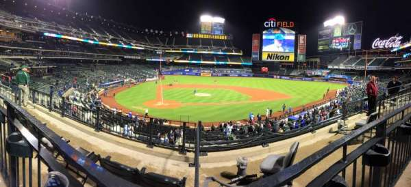 Citi Field, section: 116, row: 4, seat: 10