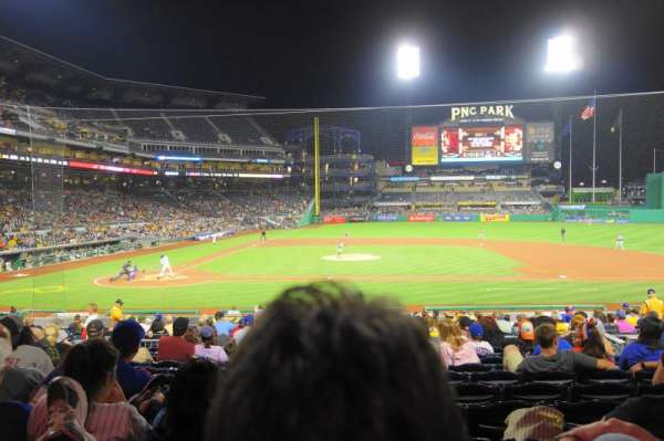 PNC Park, section: 112, row: M, seat: 7