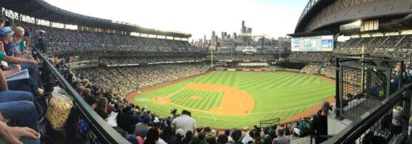 Safeco Field, section: 321, row: 9, seat: 6