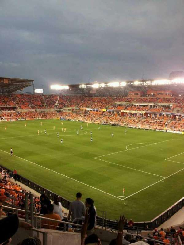 BBVA Stadium, section: 220, row: d, seat: 4