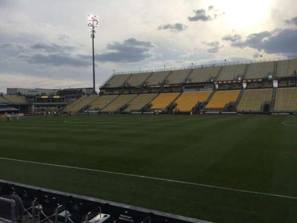 Mapfre Stadium, section: 103, row: 4, seat: 7
