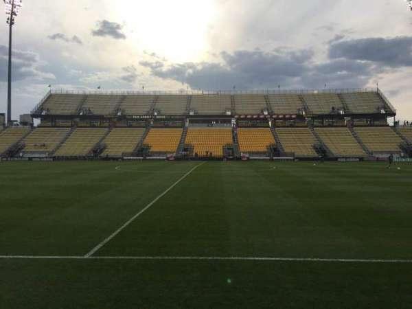 Mapfre Stadium, section: 106, row: 1, seat: 7