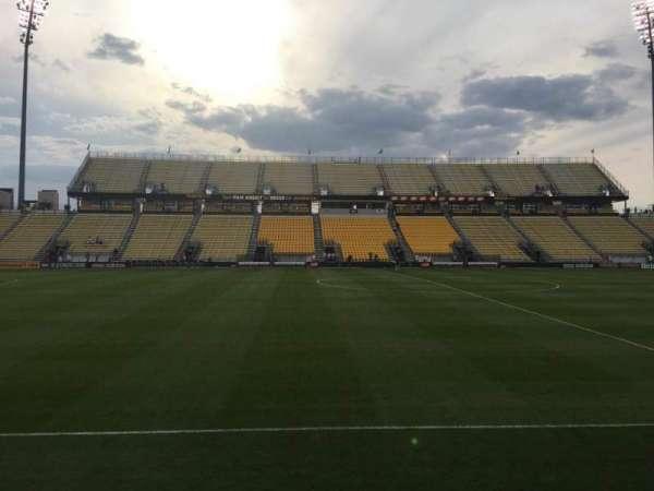Mapfre Stadium, section: 108, row: 4, seat: 1