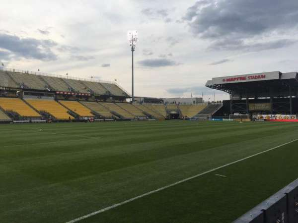 Mapfre Stadium, section: 110, row: 4, seat: 7