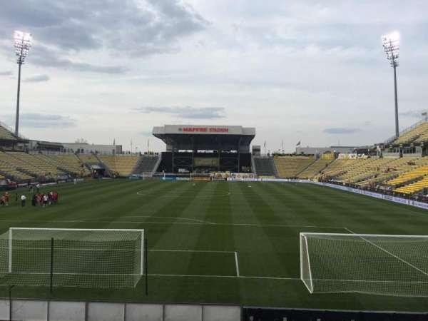 Mapfre Stadium, section: 114, row: 14, seat: 16