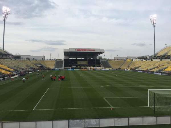Mapfre Stadium, section: 117, row: 14, seat: 20