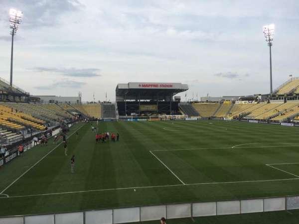 Mapfre Stadium, section: 118, row: 14, seat: 20
