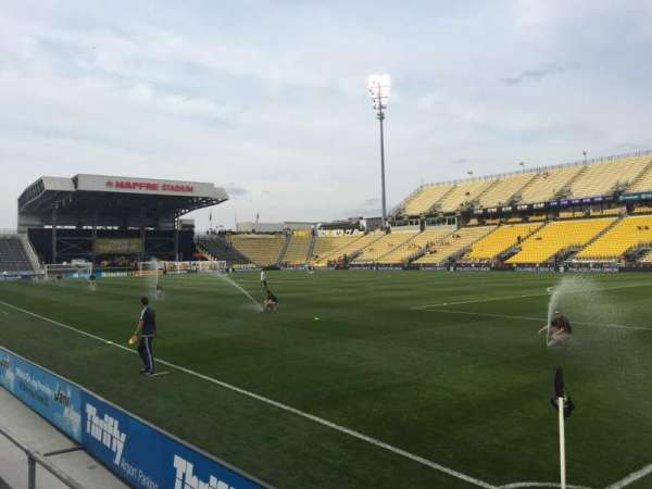 Mapfre Stadium, section: 120, row: 2, seat: 1