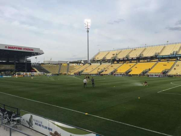 Mapfre Stadium, section: 122, row: 4, seat: 5