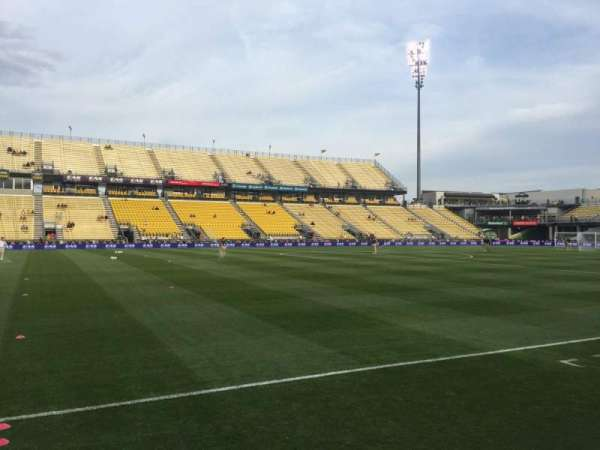 Mapfre Stadium, section: 129, row: 4, seat: 1