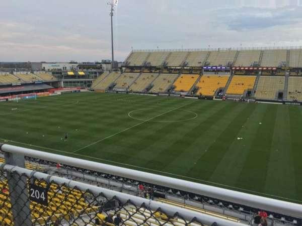 Mapfre Stadium, section: 204, row: 2, seat: 7