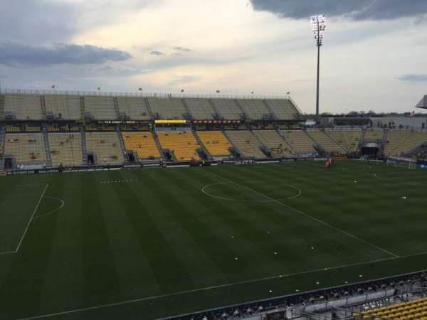 Mapfre Stadium, section: 209, row: 1, seat: 13