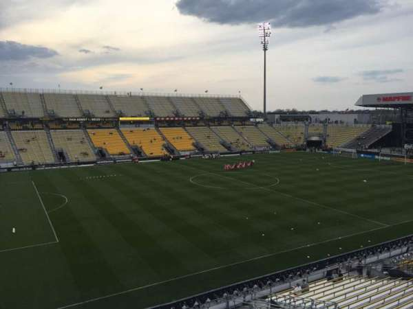 Mapfre Stadium, section: 210, row: 1, seat: 2
