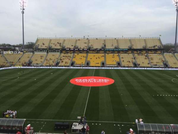 Mapfre Stadium, section: 225, row: 1, seat: 19